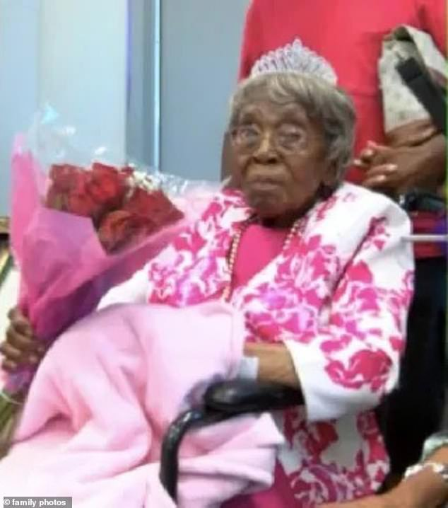 Hester Ford, from Charlotte, North Carolina, celebrated her 116th birthday this weekend, with some of her loved ones around her during a