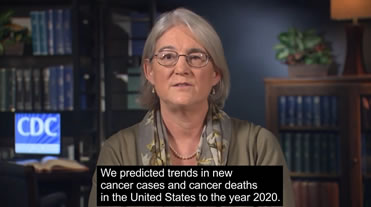 We predicted trends in new cancer cases and cancer deaths in the United States to the year 2020.