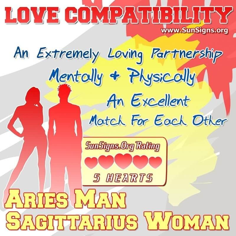 aries man sagittarius woman
