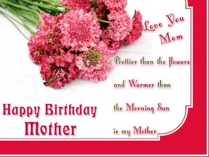 Birthday Message For Mom