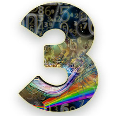 The numerology meaning of the number 3; The Creative Child - playful and irresponsible