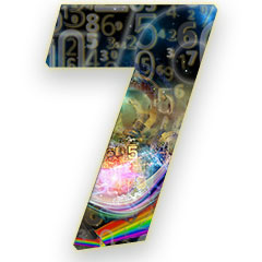 The numerology meaning of the number 7; The most introvert of all numbers, and the number of the philosopher